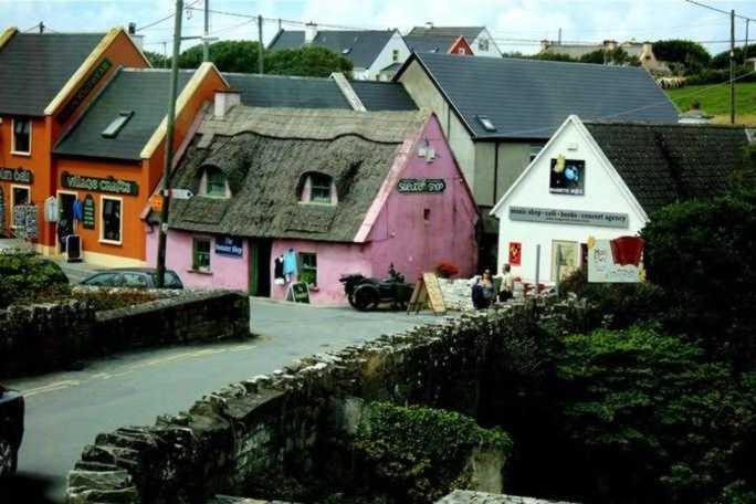 Pueblecito en el area de Galway